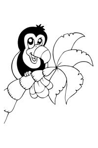 Bird - Animal Coloring Book