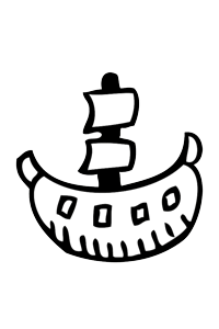 Pirate Ship - Cars Coloring Book