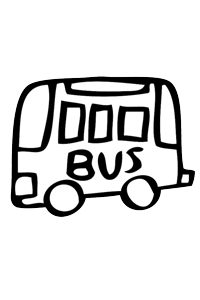 Bus1 - Cars Coloring Book