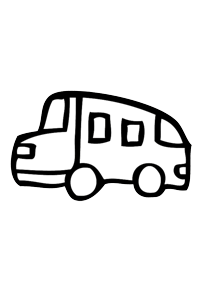 Bus2 - Cars Coloring Book