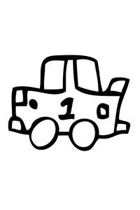Car3 - Cars Coloring Book