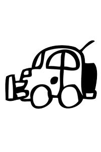 Car9 - Cars Coloring Book