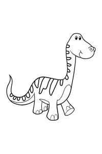 Alamosaurus - Dinosaur Coloring Book