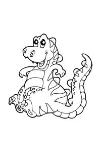 dinosaur14 - Dinosaur Coloring Book