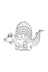 dinosaur15 - Dinosaur Coloring Book