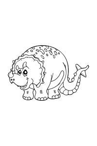 dinosaur16 - Dinosaur Coloring Book