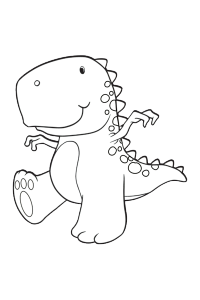 dinosaur17 - Dinosaur Coloring Book