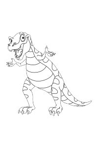 dinosaur19 - Dinosaur Coloring Book
