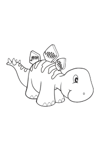 dinosaur2 - Dinosaur Coloring Book