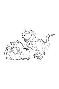 dinosaur20 - Dinosaur Coloring Book