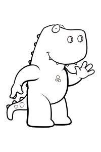 dinosaur23 - Dinosaur Coloring Book