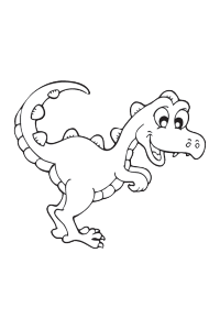 dinosaur28 - Dinosaur Coloring Book