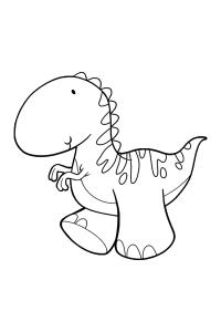 dinosaur4 - Dinosaur Coloring Book