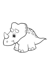 dinosaur5 - Dinosaur Coloring Book