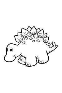 dinosaur6 - Dinosaur Coloring Book