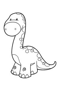 dinosaur7 - Dinosaur Coloring Book