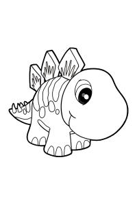 dinosaur9 - Dinosaur Coloring Book
