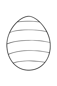 Easter egg #3 - Easter Egg Coloring Book