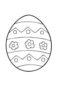 Easter egg #4 - Easter Egg Coloring Book
