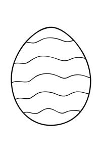 Easter Egg #5 - Easter Egg Coloring Book
