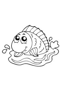 Fish - Animal Coloring Book