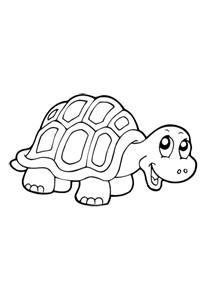 Turtle - Kids Coloring Book