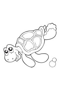 Sea Turtle - Ocean Coloring Book