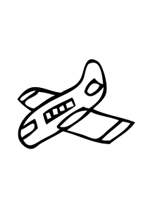 Plane - Cars Coloring Book