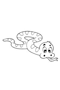 Snake - Animal Coloring Book