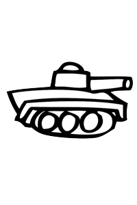 Tank - Cars Coloring Book