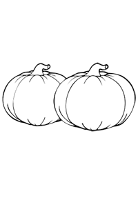 Big Pumpkins - Thanksgiving Coloring Book