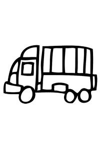 Semi Truck - Cars Coloring Book